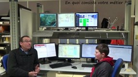 Météo Spatiale Lannion, Technicien en production.