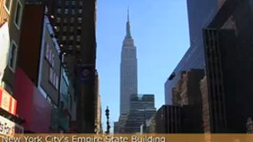 New York 's city Empire State Building