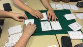 Jeu de cartes : Maths royales