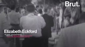 The Little Rock Nine (Elizabeth Eckford's story).