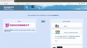 Activation compte EduConnect auto-inscription par SMS - Parent