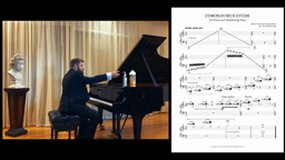 Coronavirus Etude - for Piano and Disinfecting Wipe par Jeff DePaoli