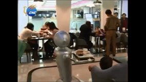 Robot-themed restaurant in China