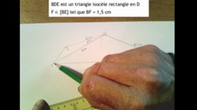 5ème - Construction d'un lama à partir de triangles - étape 3
